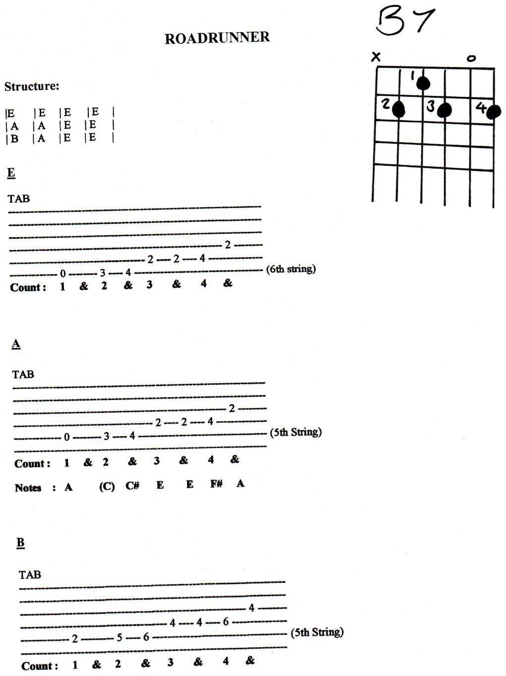 Members only free resource library for guitar teachers wild thing jpg hexwebz Choice Image